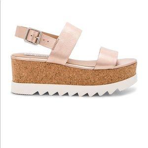 Steve Madden Krista Rose Gold Platform Sandal